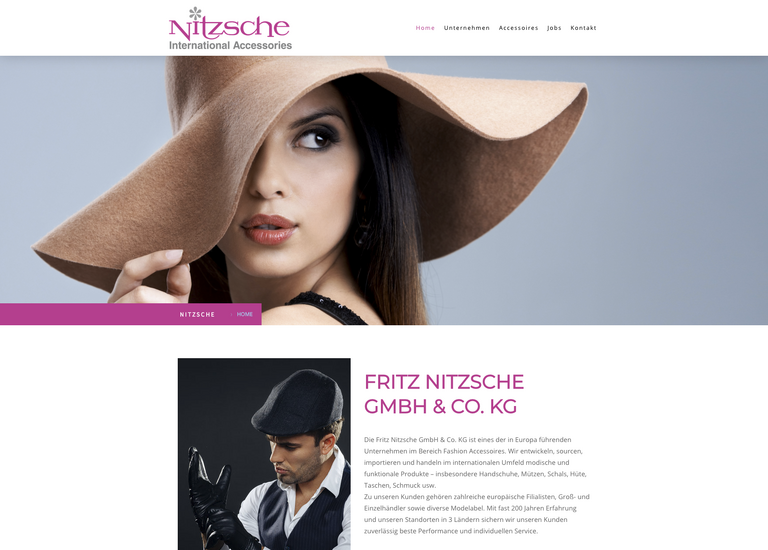 Website Nitzsche