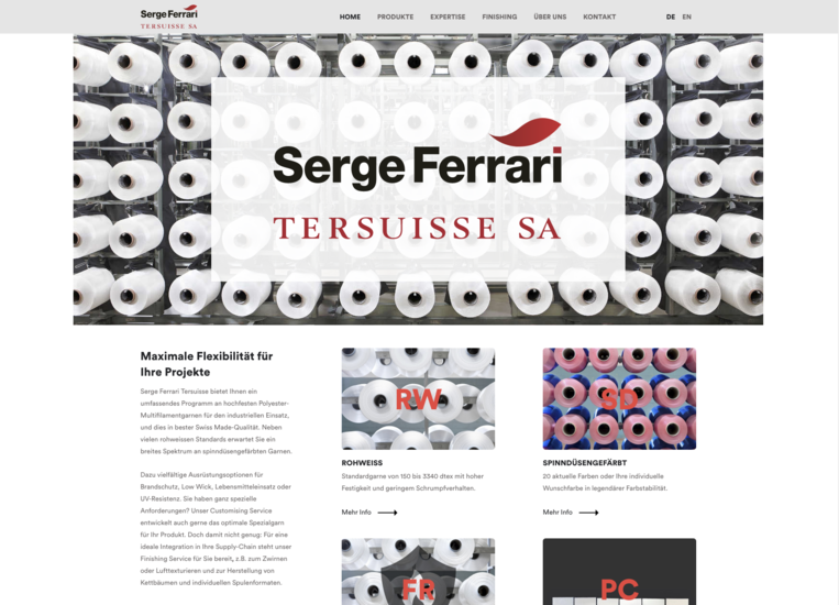 Website Tersuisse